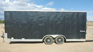 24 Cargo Trailer And Concrete Construction Equipment Package