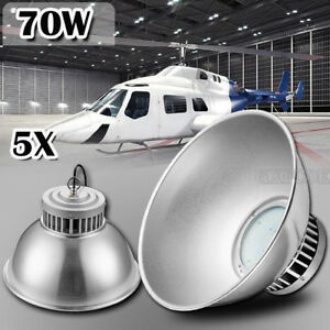 5 X 70w Led High Bay Lamp Commercial Warehouse Industrial Factory Shed Lightin