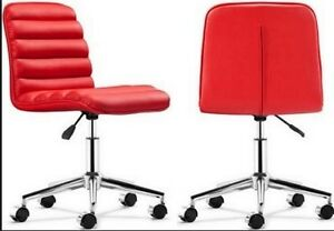Zuo Modern Admire Office Chair Red
