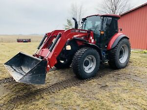 Case Ih Farmall 120c Loader