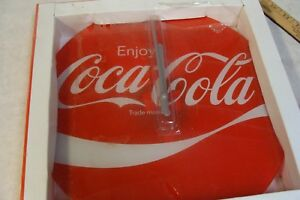 Beautiful Coca-Cola Clock Brand new in Box Round Coke