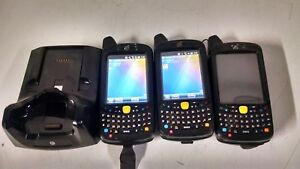 Lot Of 3 Symbol Motorola Barcode Scanner Mc659b pb0baa00100 Scanner Gps Read Ad