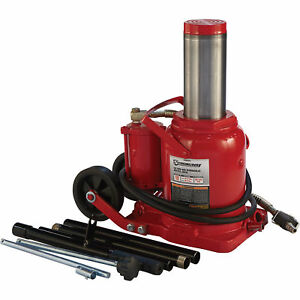 Strongway Air hydraulic Bottle Jack 50 ton Capacity 10 7 16in 16 3 4in Lift