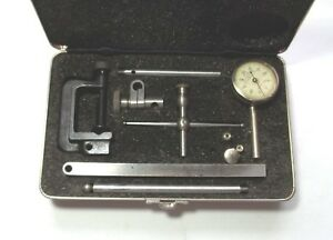 Starrett 196 001 Universal Dial Test Indicator Set Complete Jeweled Moveme