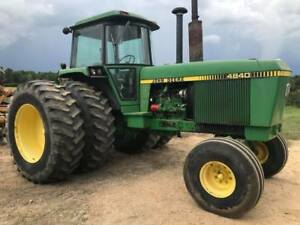 1978 John Deere 4840 Farm Tractor Cab With A c