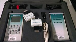 Agilent Wirescope 155 Cable Tester White Receiver Model Complete W accessories