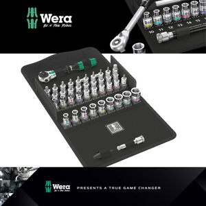 Wera Tools Zyklop Speed All In Ratchet Set 1 4 Drive Metric 42pc 8100 Sa 003755