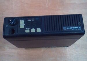Motorola Maxtrac 800 Model d35mwa5gb6ak 800 Mhz Two way Radio