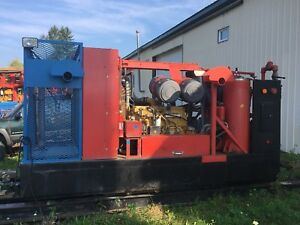 Atlas Copco Air Compressor 976 365 Skid Mounted
