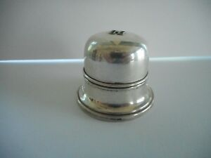 Beautiful Vintage Sterling Silver Birks Single Slot Ring Box C 1950s