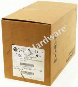 New Sealed Allen Bradley 22b b2p3n104 a Powerflex 40 Ac Drive 240v 3 p 2 3a Qty