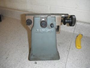 Bridgeport Milling Machine Rotary Table Tailstock 8 To 9 Center Height Used