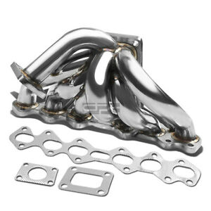 For 93 98 Supra Jza80 2jzgte T4 Performance Turbo Charger Manifold Exhaust Kit