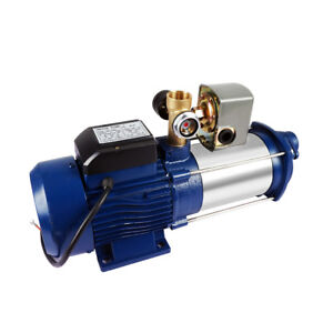 Adjustable Irrigation Centrifugal Booster Electric Water Pump S steel Jet Pump