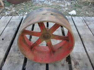 Farmall Cub Belt Pulley Steampunk