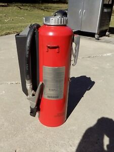 Used Ansul Red Line 20 Dry Chemical Abc Cartridge Fire Extinguisher