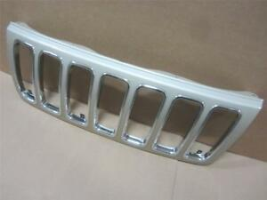 Oem 01 02 03 Jeep Grand Cherokee Limited Overland Grille Grill Champagne Pth