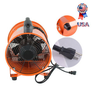 110v 2800r min Two speed Blowers 10 Portable Ventilation Fan Blower Us Shipping