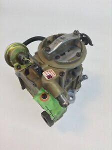Rochester Monojet Carburetor 1973 Chevy 140 Engine