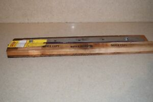 Quick Copy Paper Cutter Blade 24 3 4 Long For Triumph Paper Cutter a1
