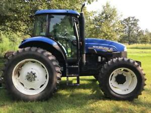 2014 New Holland Ts6 140hp Tractor Cab And Air 6 7l 6 Cylinder Diesel