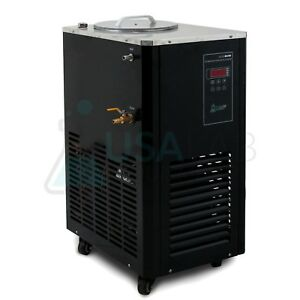 Usa Lab Equipment 110v 5l 10 c Recirculating Chiller 30l min Flow Rate
