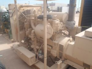 Cat G3406 Na Natural Gas Generator 2010 4 555 Hours
