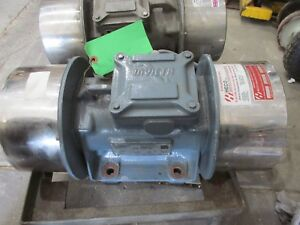 Invicta Vibrator Unit Vibratory Shaker Motor 460v Force 11790n 1152 Rpm