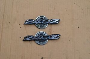 70 Datsun 240z Series 1 Original Top Emblems Metal