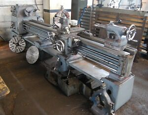 18 Swg 104 Cc Meuser Mol Engine Lathe Inch metric 3 4jaw 2 Steady Rests 7 5