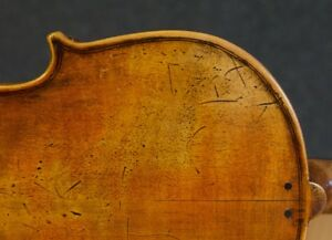 Very Old Labelled Vintage Violin Carlo Antonio Testore Geige Viola