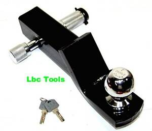 2 Drop Hitch For 2 Receiver Trailer Ball Mount 1 7 8 Ball Hitch Lock