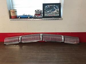 1956 Mercury Front Bumper Grille Nice 818
