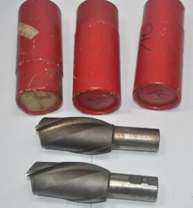 Lot Of 5 Regal Milling Cutter End Mill Lh 2 Flute 2 Dia 1 1 4 Shk