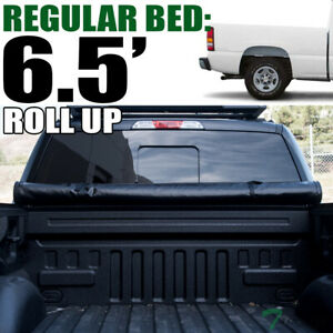 Topline For 1999 2007 Silverado Sierra 6 5 Bed Lock Roll Up Vinyl Tonneau Cover