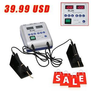 Dental Lab Electric Waxer Carving Knife Machine 2 Heating Pen 6 Wax Tips New