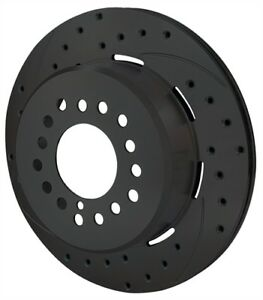 Wilwood 160 11374 bk Srp Drilled Performance Rotor And Hat