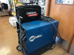 Miller Srh 444 Lincoln Ln 25 Wire Feeder Welding Package