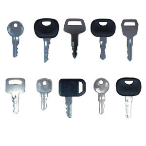 52 Keys Heavy Equipment Construction Ignition Key Set