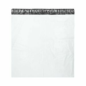 24 X 24 White Poly Mailer Shipping Envelope Plastic Self Seal 2 Mil 200 Bags