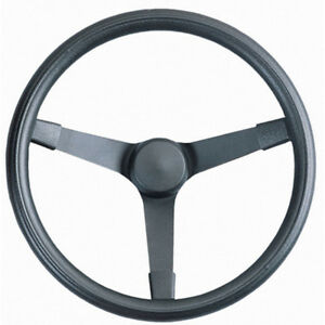Grant 332 Black Paint Steel 14 3 4 In Diameter Performance Steering Wheel