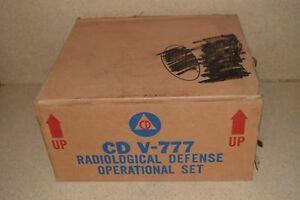 Victoreen Model 1a Cdv 715 Radiation Detector Charger Lot Of 3 e1