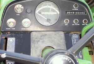 John Deere 4020 Gas Tractor With 148 Loader 1972