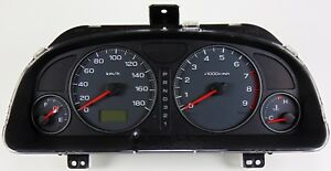 Rare Jdm Subaru Forester Gauge Cluster Sf5 Red Needles Automatic Ej20 1998 2002