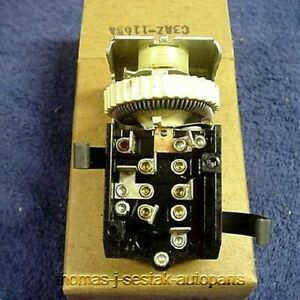 New 1961 1962 1963 Ford T bird Thunderbird Headlight Switch Usa Made