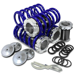 Fit Maxima A32 Scale Adjustable Lowering Suspension Coilover Coil Blue Springs