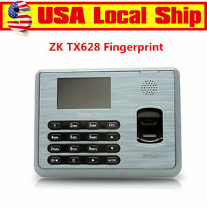 Zk Tx628 3 Inch Color Tft Fingerprint Attendance Time Clock Multi Biometric