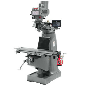 Jet Jtm 4vs Mill With Newall Dp700 Dro And X Axis Powerfeed 690087