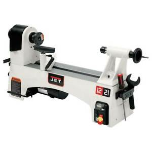 Jet Jwl 1221vs 12 inch By 21 inch Variable Speed Wood Lathe Woodworking