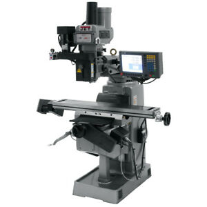 Jet Jtm 4vs 1 Mill With 3 axis Acu rite G 2 Millpwr Cnc 690950
